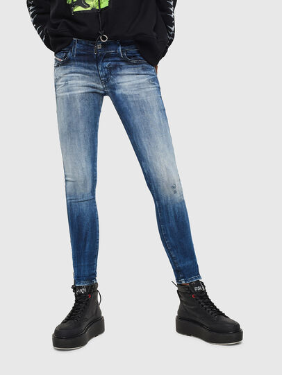 Diesel - Slandy Low 0095C, Medium blue - Jeans - Image 1