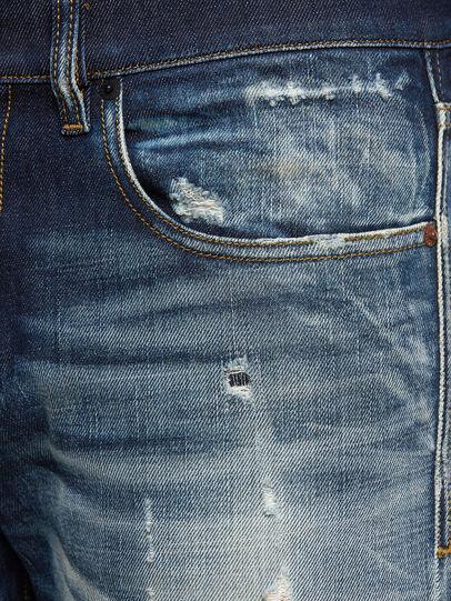 Diesel - D-Strukt 0092I, Dark Blue - Jeans - Image 5