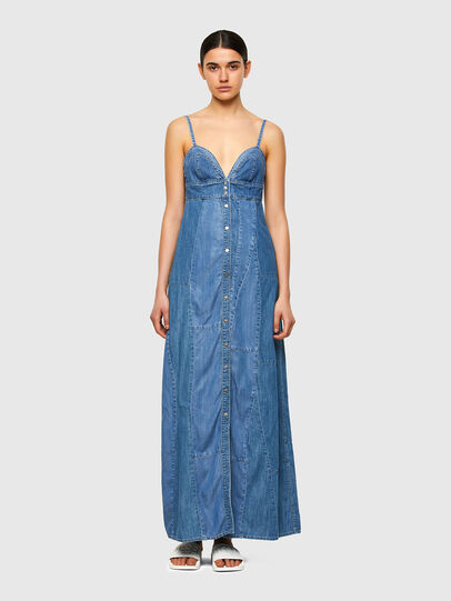 Diesel - DE-ARYA-SP, Medium blue - Dresses - Image 1