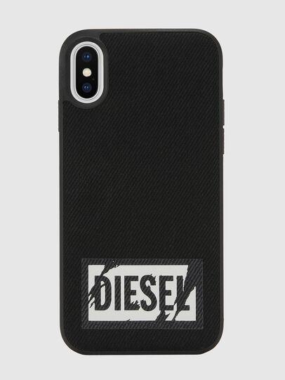 Diesel - BLACK DENIM IPHONE X CASE,  - Cases - Image 2