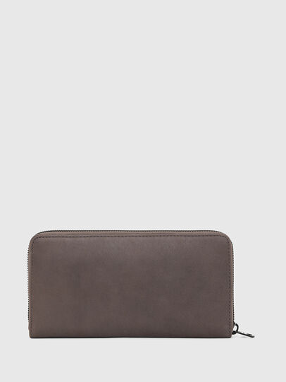 Diesel - 24 ZIP, Dark grey - Zip-Round Wallets - Image 2