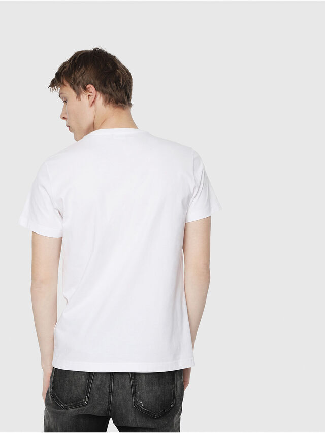 Diesel - T-DIEGO-Y2, White - T-Shirts - Image 2