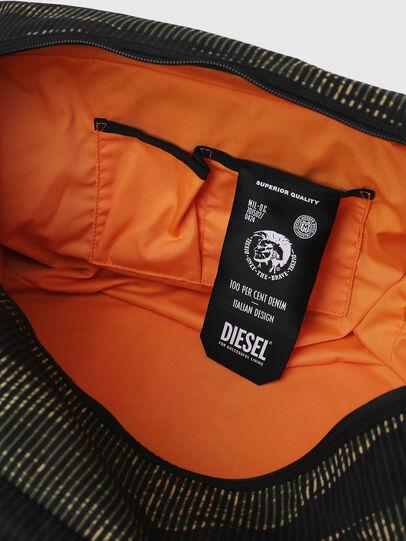 Diesel - M-CAGE DUFFLE M, Black/Green - Travel Bags - Image 6