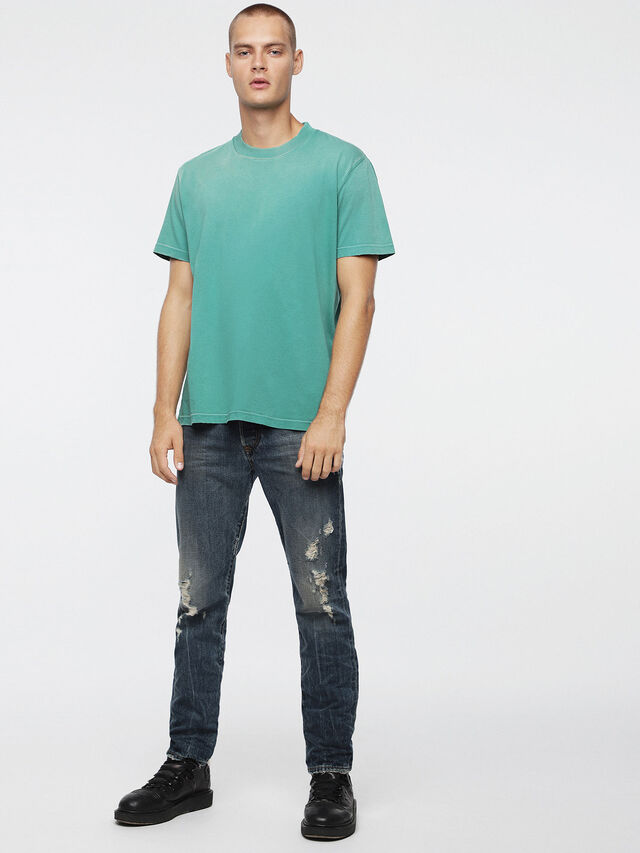 Diesel - T-JOEY-T, Water Green - T-Shirts - Image 4