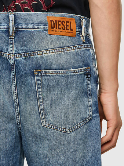 Diesel - D-STRUKT-SHORT, Light Blue - Shorts - Image 3