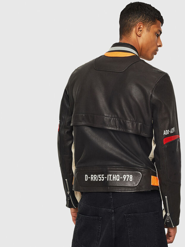L-DIXON, Black - Leather jackets