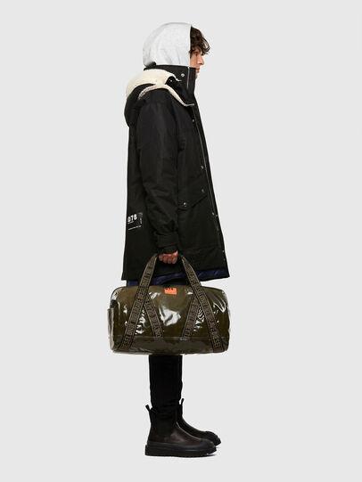 Diesel - ARMDUFFLE, Olive Green - Travel Bags - Image 7
