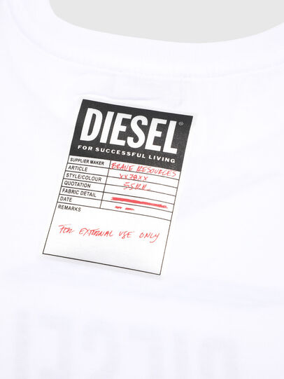 Diesel - TJTITA, White - T-shirts and Tops - Image 3