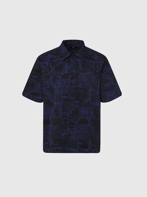 S-ROHAD-B, Black/Blue - Shirts