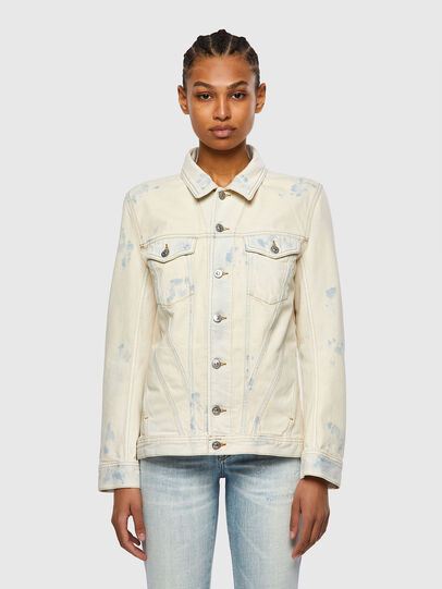 Diesel - DE-NALI-SP, Blue/White - Denim Jackets - Image 1