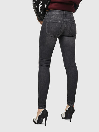 Diesel - Slandy Low 083AI, Black/Dark grey - Jeans - Image 2