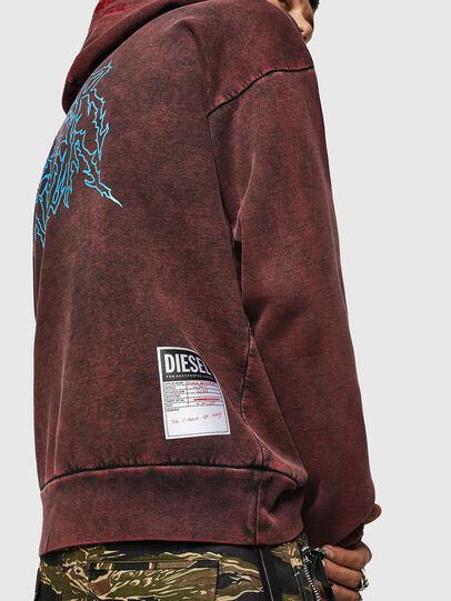 Diesel - S-ALBY-ACID, Bordeaux - Sweaters - Image 7