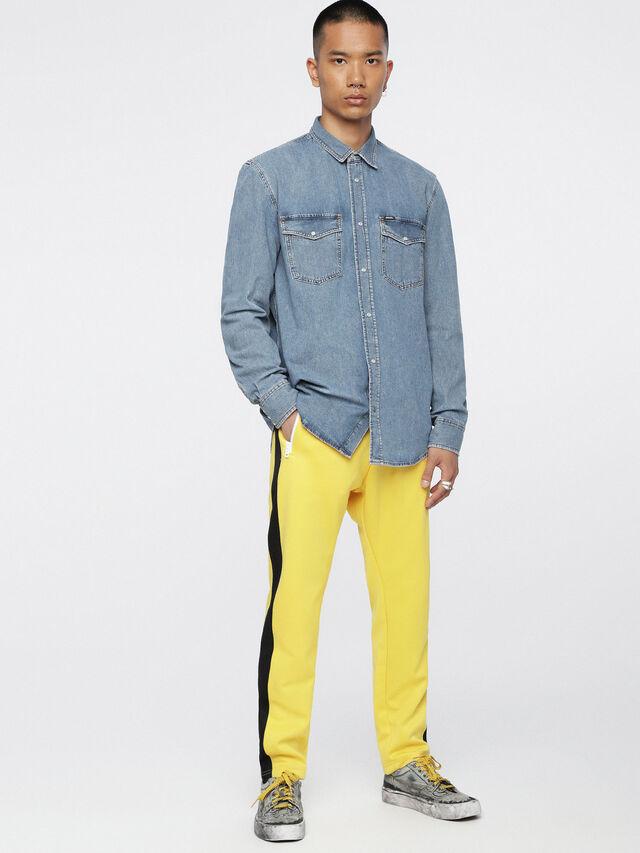 Diesel - D-ROOKE, Blue Jeans - Denim Shirts - Image 4