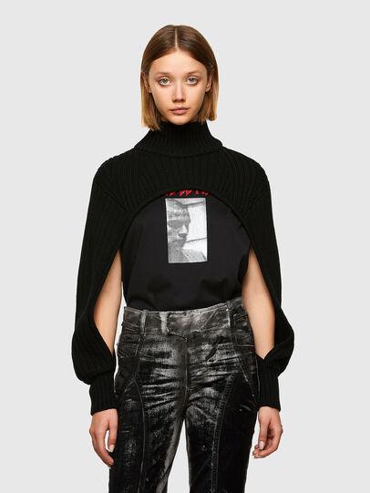 Diesel - M-BENAZIR, Black - Knitwear - Image 1