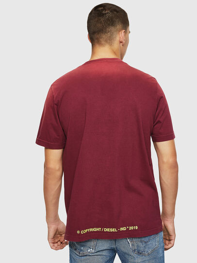 Diesel - T-DIKEL, Bordeaux - T-Shirts - Image 2