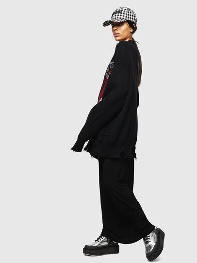 Diesel - M-JENNY, Black - Knitwear - Image 6