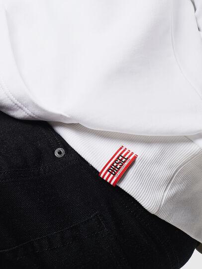 Diesel - LR-S-GIRK-HOOD-VIC, White - Sweaters - Image 5