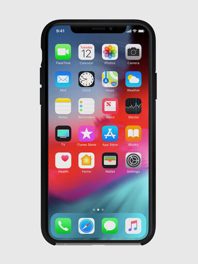 Diesel - DIESEL PRINTED CO-MOLD CASE FOR IPHONE XS & IPHONE X, Black - Cases - Image 4