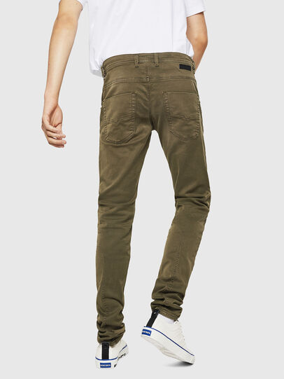 Diesel - Krooley Long JoggJeans 0670M, Military Green - Jeans - Image 2
