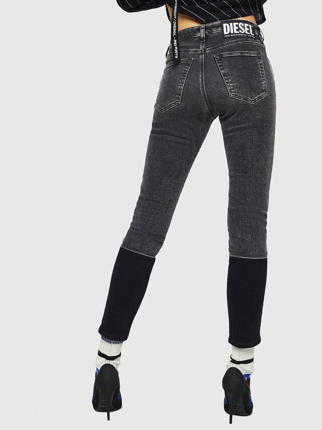 Diesel - Babhila 0890T, Black/Dark grey - Jeans - Image 2