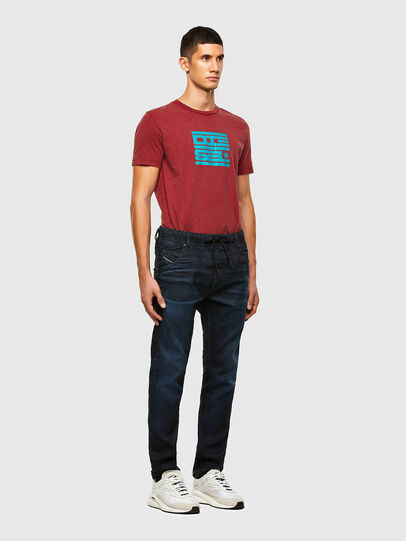 Diesel - KROOLEY JoggJeans® 069QF, Dark Blue - Jeans - Image 5