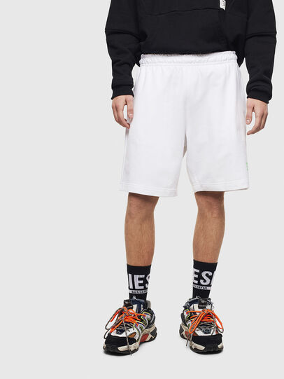 Diesel - P-BOXIER, White - Shorts - Image 1