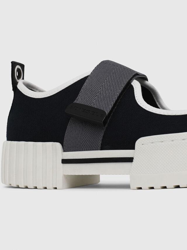 Diesel - H-MERLEY B, Black - Sneakers - Image 5