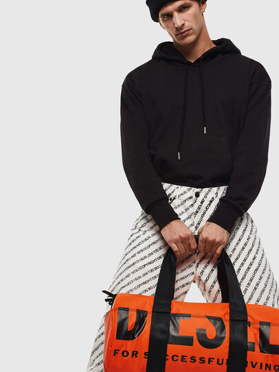 Diesel - F-BOLD DUFFLE, Orange - Travel Bags - Image 6
