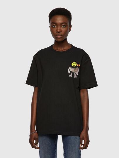 Diesel - T-BOYISH, Black - T-Shirts - Image 1