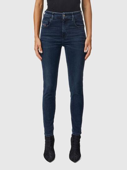 Diesel - Slandy High 009QF, Dark Blue - Jeans - Image 1