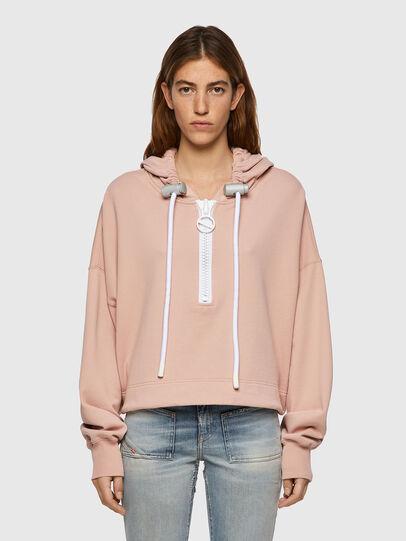Diesel - F-CROPPY-B1, Pink - Sweaters - Image 1
