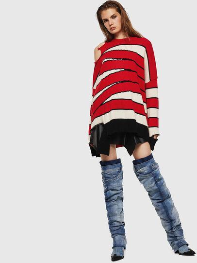 Diesel - M-PAPERY, Red - Knitwear - Image 6