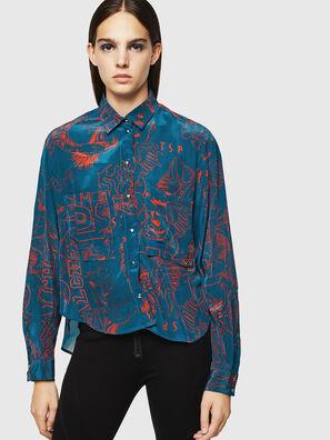 C-SUPER-F, Blue/Red - Shirts