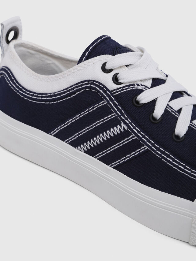 Diesel - S-ASTICO LOW LACE W, Blue/White - Sneakers - Image 4