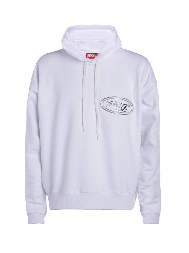 Diesel - SOSW01, White - Sweaters - Image 1