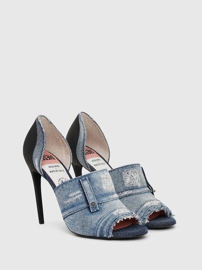 Diesel - SA-SLANTY OTD, Blue Jeans - Sandals - Image 2