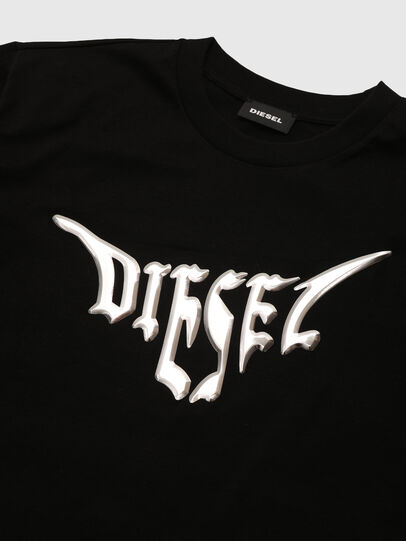 Diesel - TBOWLY, Black - T-shirts and Tops - Image 3