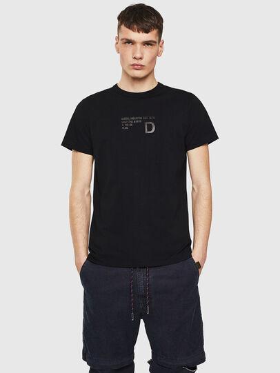 Diesel - T-DIEGO-S5, Black - T-Shirts - Image 1