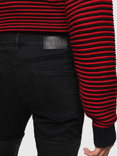 Diesel - D-Strukt 0091W, Black/Dark grey - Jeans - Image 5