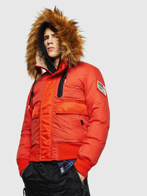 W-BURKISK, Orange - Winter Jackets