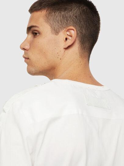 Diesel - T-JUST-LS-BX3, White - T-Shirts - Image 4