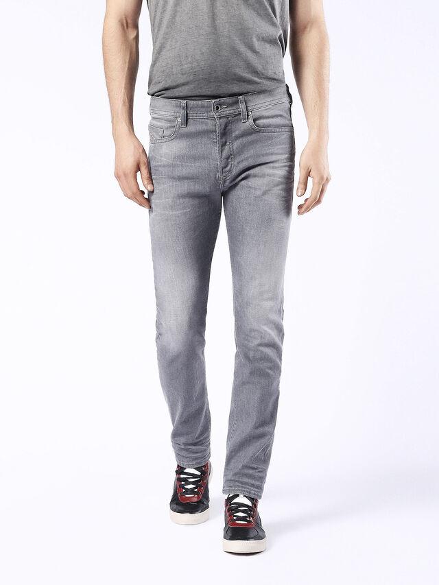 Diesel - Buster 0853T, Black/Dark grey - Jeans - Image 2
