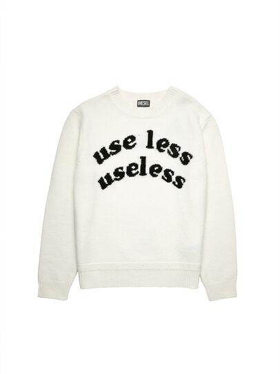 Diesel - K-FLINT, White - Knitwear - Image 5
