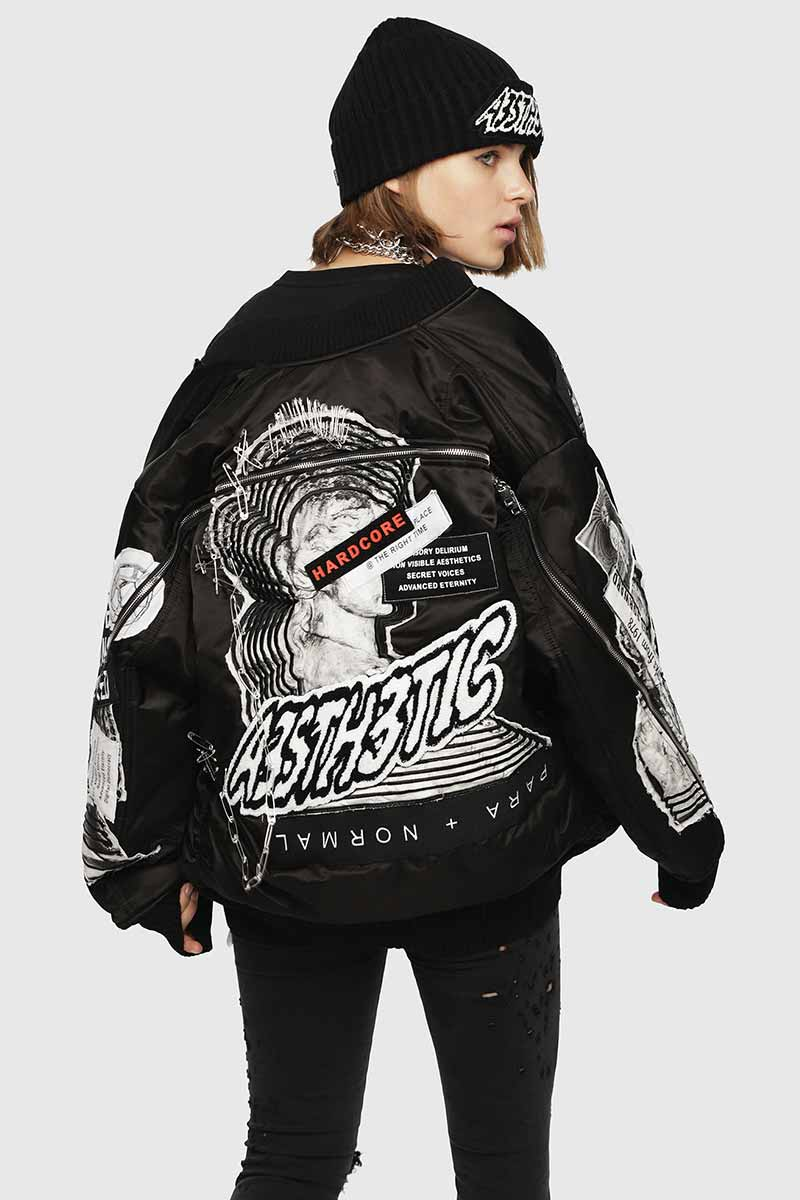 New Arrivals Jackets For Woman   Diesel Online Store