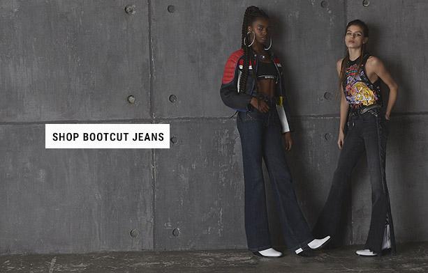 Shop Bootcut Jeans Woman
