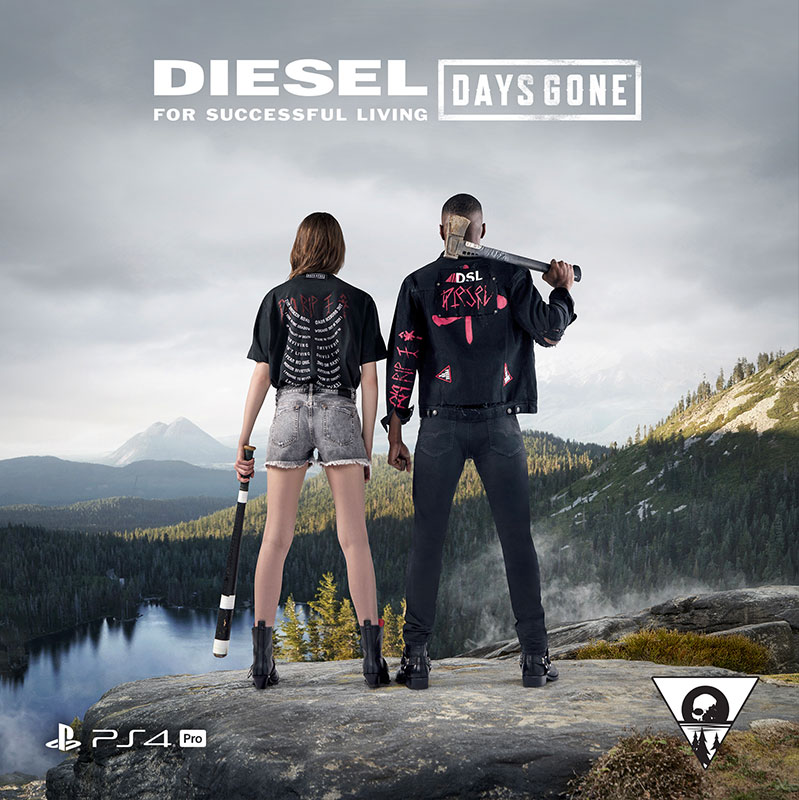 Diesel X Days Gone on PlayStation 4™