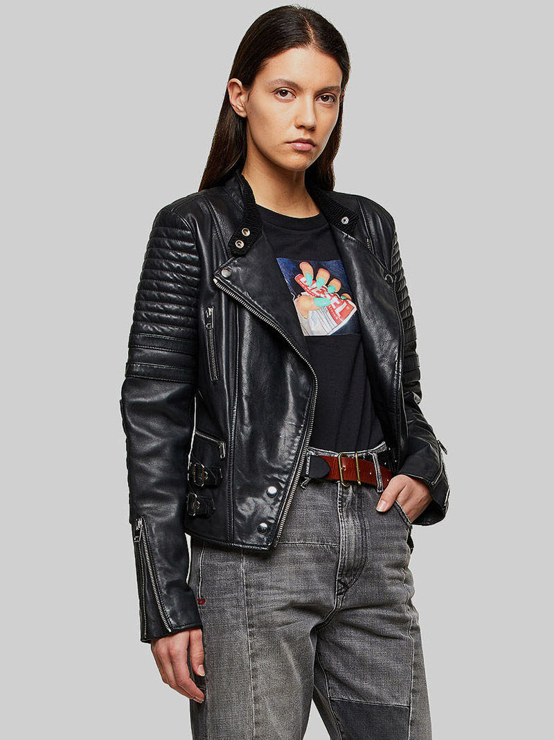 DIESEL JACKETS & CLASSIC LEATHER ICONS FOR WOMEN